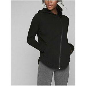 Athleta Cozy Karma Asymmetrical Jacket